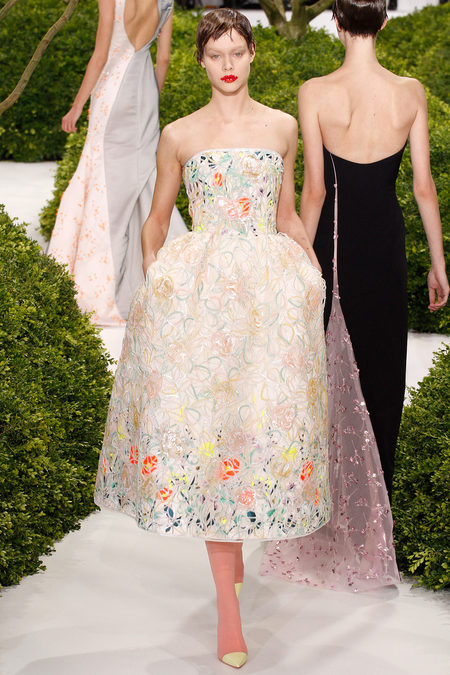 Christian Dior Spring 2013 Haute Couture 01
