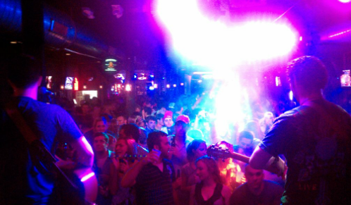 A View from the stage at Whiskey Jack's
