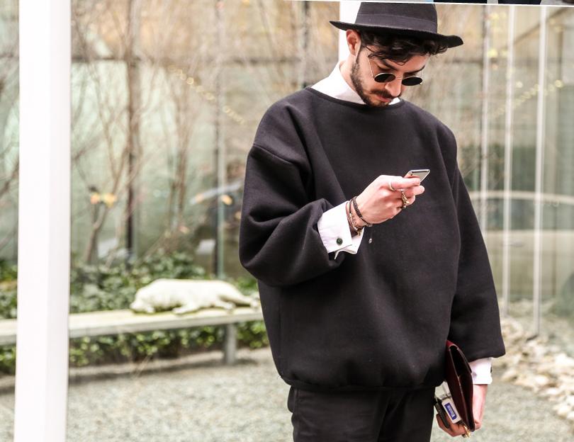 men�s mfw fall 2013 street style review � moda magazine