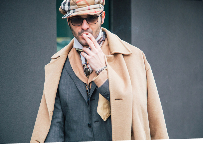 men�s mfw fall 2013 street style review � moda magazine