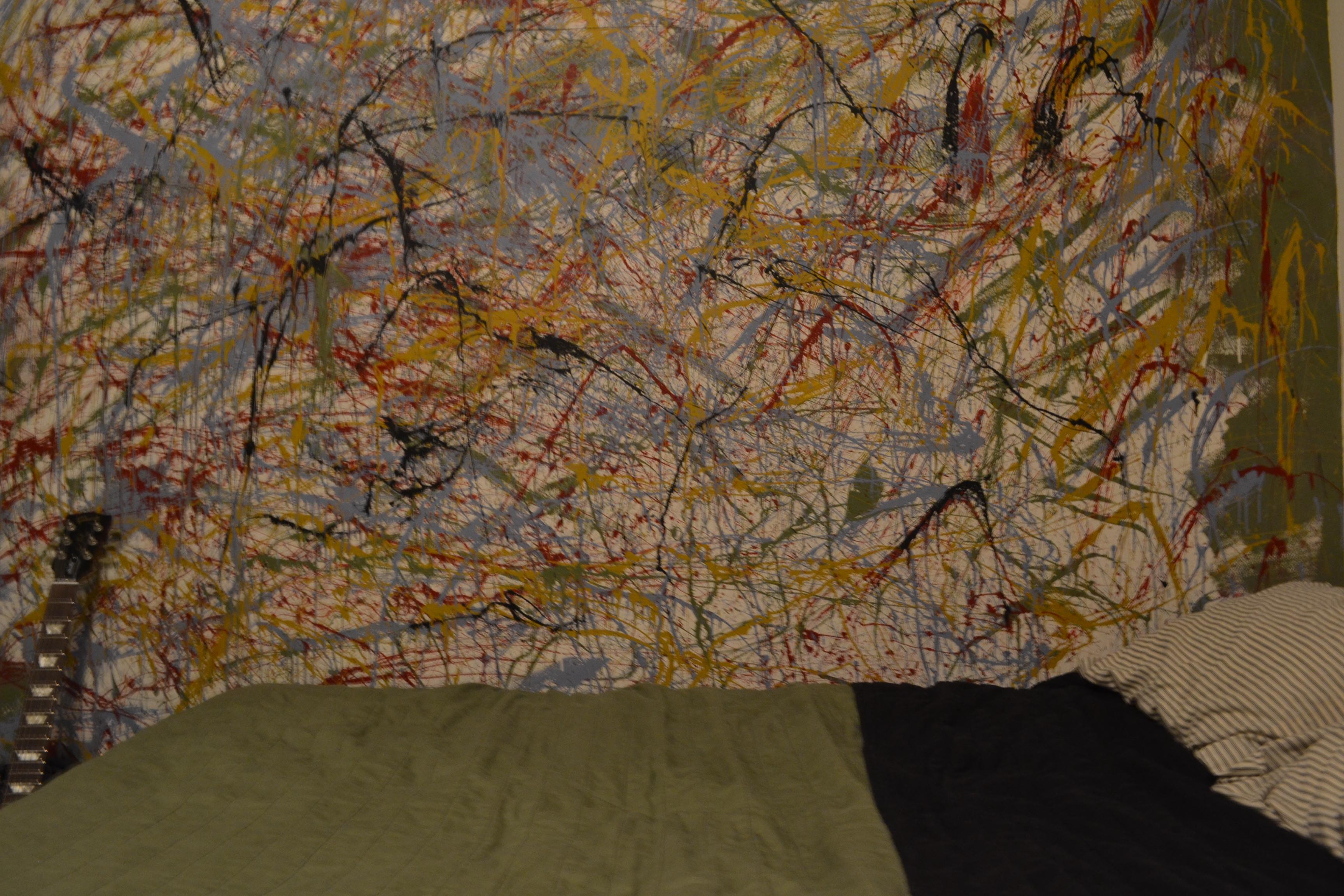 Jackson Pollock Splatter Paint Diy Moda Magazine
